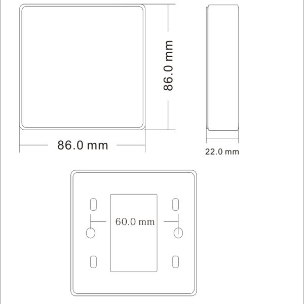AC213146 Dimensions
